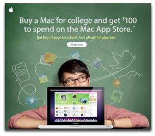 Back to School with apps, not iPods