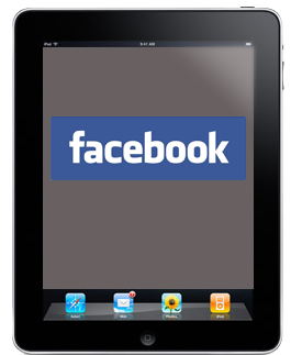 Facebook for iPad... soon