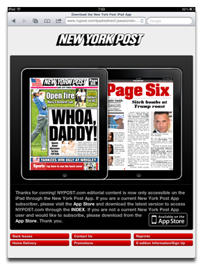 New York Post: All Your Cash Is Belong To Us!