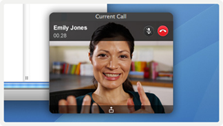 New Skype video controls
