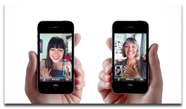 iPhone 4 FaceTime commercial