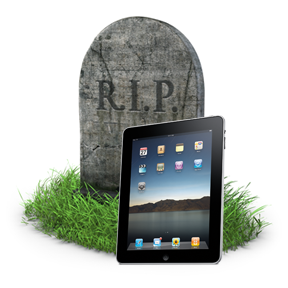 iPad Tombstone