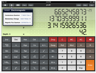 PCalc for iPad