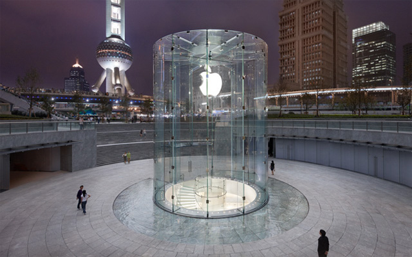 Pudong Apple Store in Shanghai, CHina