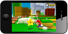 Super Mario on iPhone? Yeah, right.