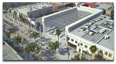 Santa Monica Apple Store rendering
