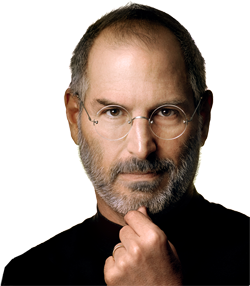 Apple Chairman Steve Jobs