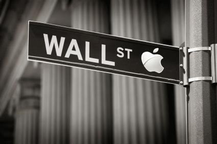Apple on Wall Street