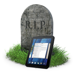 TouchPad: Still a headache for HP, but now in court