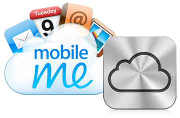 MobileMe, soon to be iCloud
