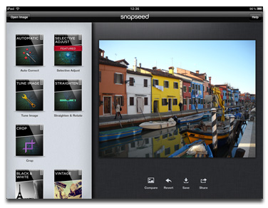 Nik Software's Snapseed for iPad Free Through Friday – The