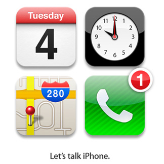 Let's talk iPhone event
