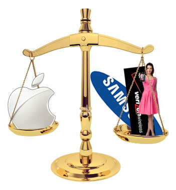 Apple vs. Samsung/Verizon/T-Mobile