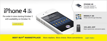 Best Buy starts iPhone 4S preorders