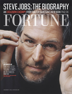 Fortune to run an excerpt from Steve Jobs biography