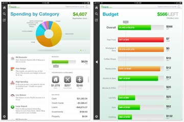 Mint for the iPhone and iPad