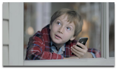 iPhone 4S Snow Day commercial