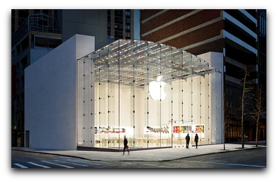 Apple retail store traffic is up 43 percent