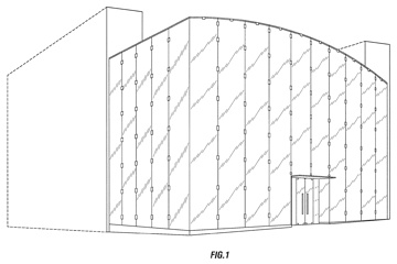 Patent rendering of Apple Store