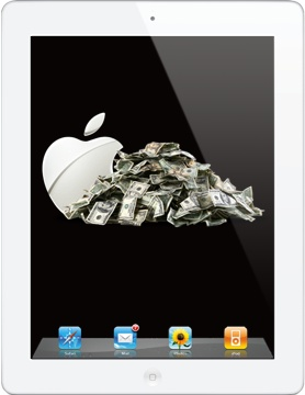 Third gen iPad pre-orders exceeded analyst expectations