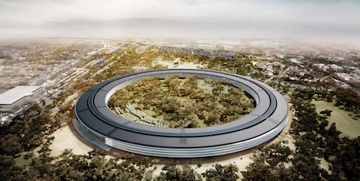 New renderings show solar panels on the Apple space ship roof