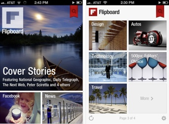 Flipbard for the iPhone