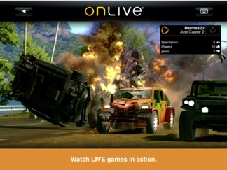 OnLive for the iPad