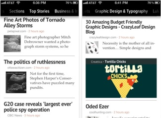 Zite comes to the iPhone