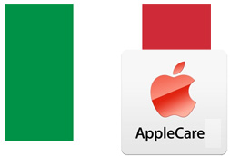 Italian flag and AppleCare icon