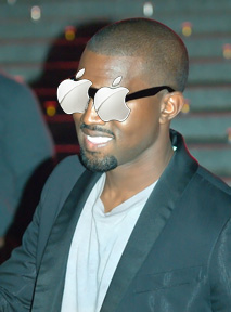 Kanye West, ready to pick up where Steve Jobs left off