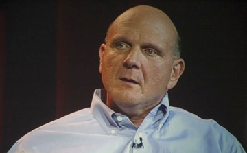 Steve Ballmer speaking at CES 2012
