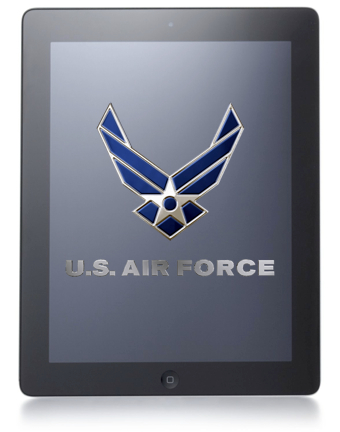 US Air Force iPads