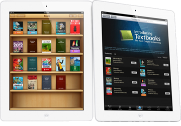 Apple's textbooks on iPads