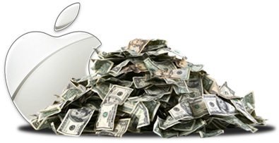 Apple's overseas cash pile is sitting at $74B