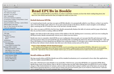 Bookle for the Mac