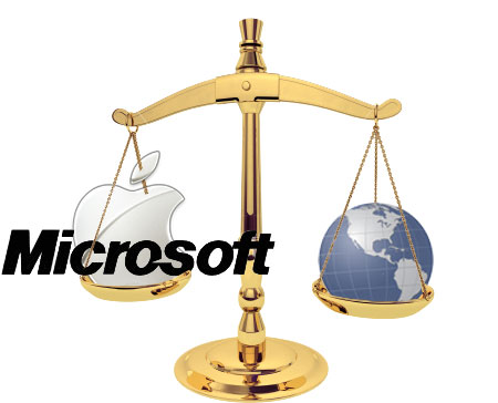 Apple & Microsoft: On The Same Side