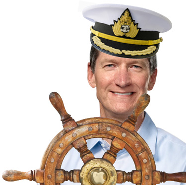 Tim Cook, Captain