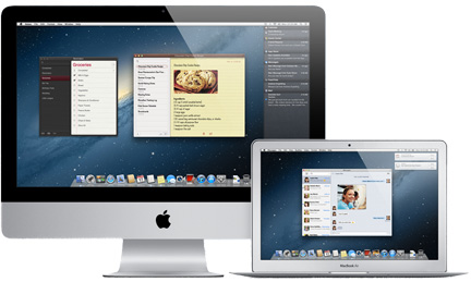 Mountain Lion on the iMac and MacBook Air