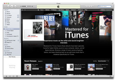 Mastered for iTunes: Remastered tracks just for the iTunes Store