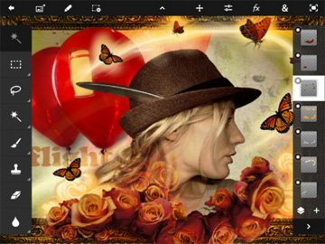 Adobe Photoshop Touch for the iPad 2