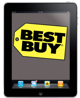 Best Buy makes way for new iPad models