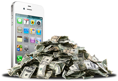 Apple rakes in 73% of smartphone profits