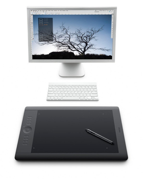 Wacom's Intuos5 graphics tablet