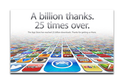 Apple's App Store: Over 25 billion downloads