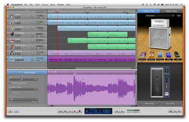GarageBand '11 for the Mac