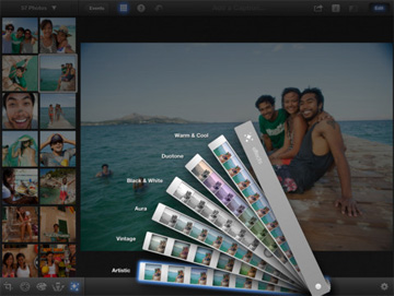 Apple updated iPhoto, GarageBand, and iMovie for the iPhone and iPad