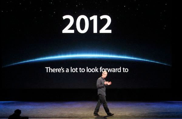 Tim Cook and 2012