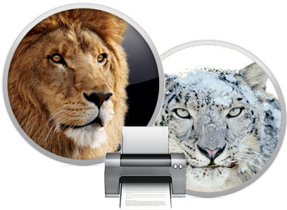 Lion & Snow Leopard Printer Drivers