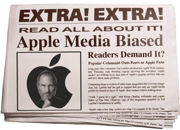 Apple Media Bias