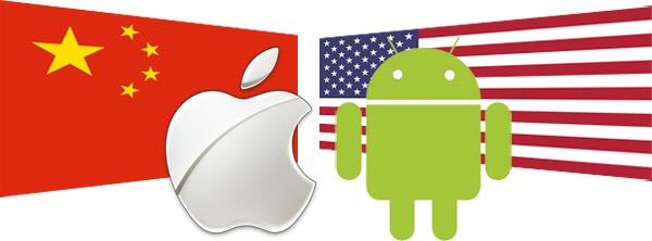 Apple & Android in China and U.S.